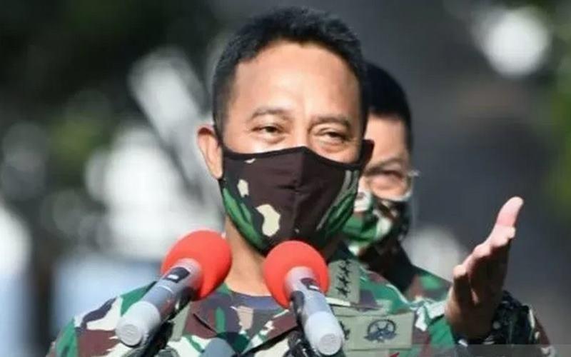 Kepala Staf TNI Angkatan Darat (KSAD) Jenderal TNI Andika Perkasa. - Antara