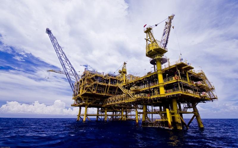 Ilustrasi: Penampakan proyek pengembangan Lapangan gas Buntal/5 oleh Medco E&P Natuna Ltd. Istimewa / Dok. SKK Migas