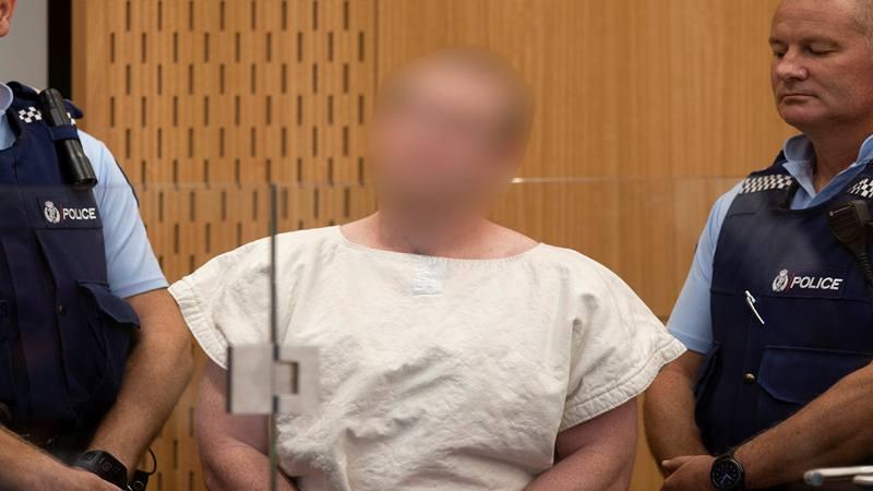 Brenton Tarrant di Pengadilan Distrik Christchurch, Selandia Baru 16 Maret 2019. - Reuters