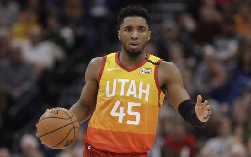 Pemain basket  Utah Jazz, Donovan Mitchell - New York Dailys