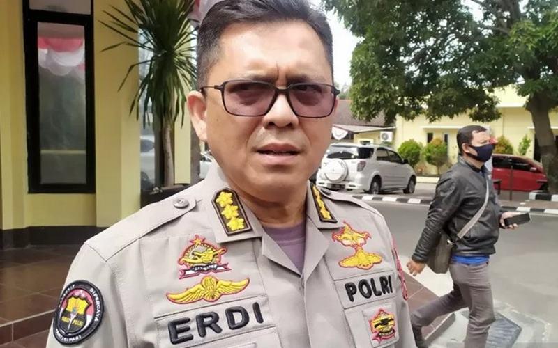 Kabidhumas Polda Jawa Barat, Kombes Pol Erdi A Chaniago. - Antara