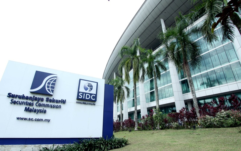 Gedung Securities Commission atau Suruhanjaya Sekuriti Malaysia. - themalaysianreserve.com