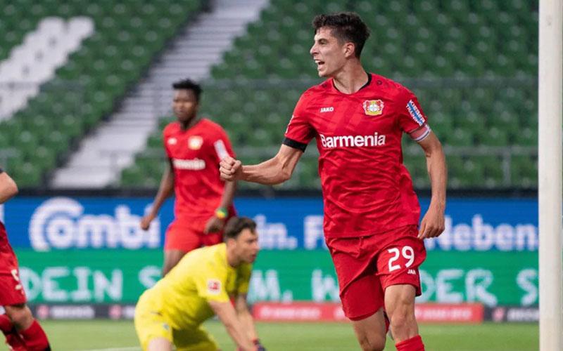Penyerang Bayer Leverkusen Kai Havertz - Bundesliga.com