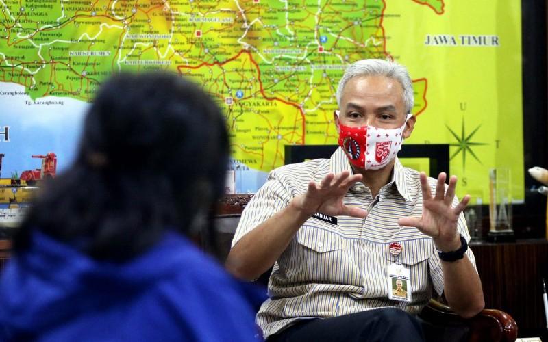 Gubernur Jawa Tengah Ganjar Pranowo - Bisnis/Rachman