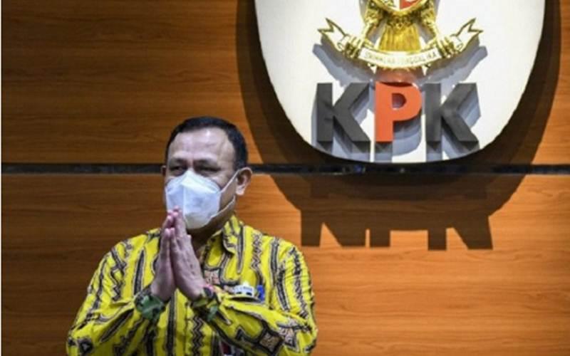 Ketua Komisi Pemberantasan Korupsi Firli Bahuri - Antara/M. Risyal Hidayat