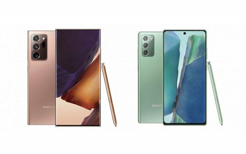 Samsung Galaxy Note 20 dan Galaxy Note 20 Ultra.  - Samsung
