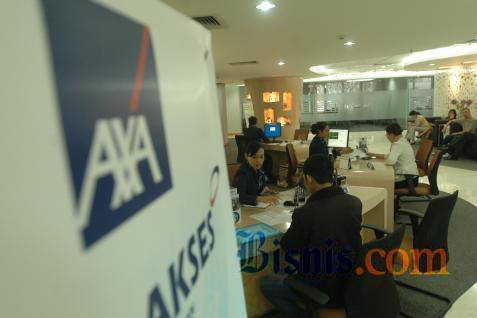 Kegiatan di salah satu kantor AXA / Bisnis