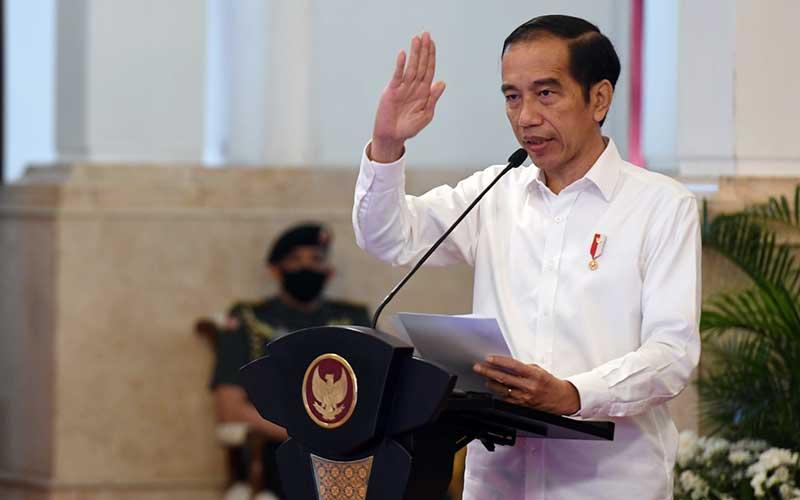 Presiden Joko Widodo/Antara-Hafidz Mubarak A - Pool