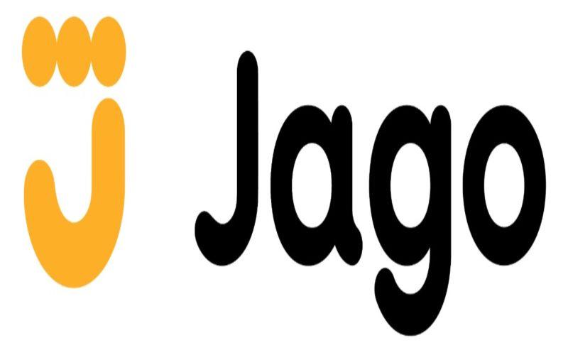 Logo PT Bank Jago Tbk. Bank ini dahulu bernama PT Bank Artos Indonesia Tbk. Setelah pemegang saham baru masuk, bisnis model bank diubah dengan fokus melayani segmen menengah dan mass market dan bertumpu pada teknologi digital. - istimewa