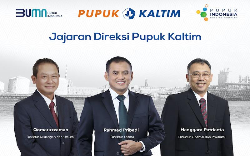 Jajaran Direksi dan Komisaris PT Pupuk Kalimantan Timur (Pupuk Kaltim) berganti yang diputuskan melalui Rapat Umum Pemegang Saham Luar Biasa (RUPS LB) pada Selasa (25/8/2020) sore. - JIBI/Istimewa