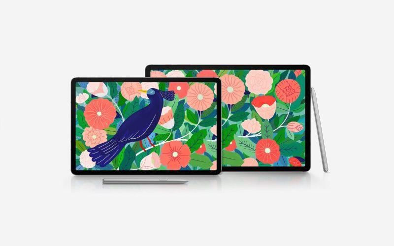 Tampilan Samsung Galaxy Tab S7 - istimewa
