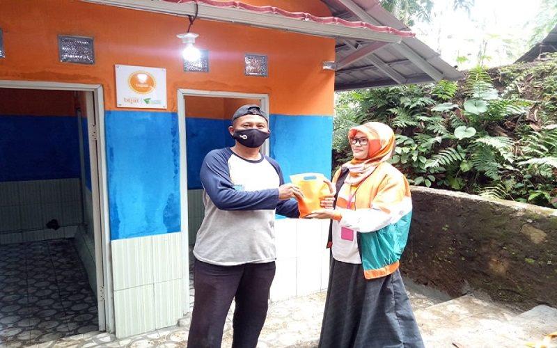 Peresmian fasilitas MCK yang diadakan BTPN Syariah bekerjasama dengan Dompet Dhuafa - Istimewa