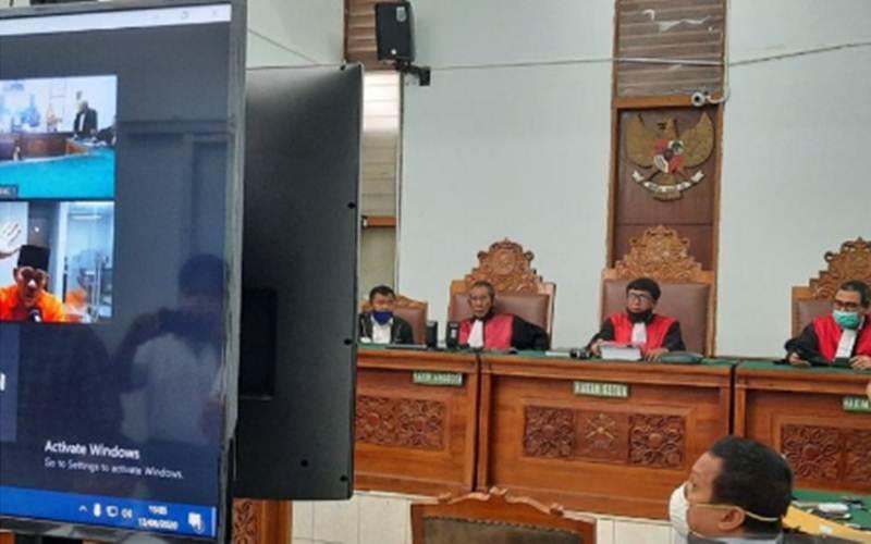 Sidang tindak pidana ujaran kebencian atas terdakwa Ruslon Buton dijadwalkan digelar secara telekonferensi di Pengadilan Negeri Jakarta Selatan, Kamis (13/8/2020). - Antara/Laily Rahmawaty