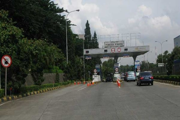Jalan Tol Pondok Pinang - ww.bpjt.pu.go.id