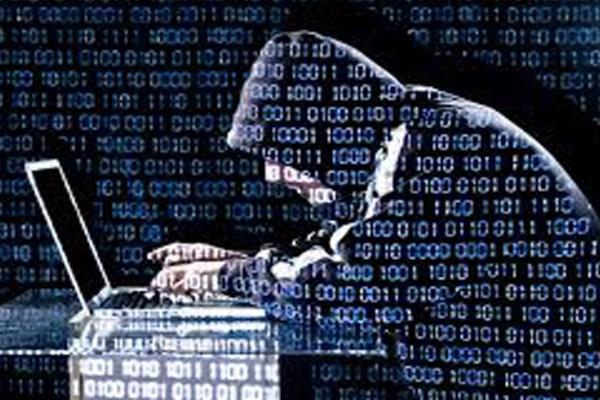 Ilustrasi serangan siber.  -  Dok. youtube