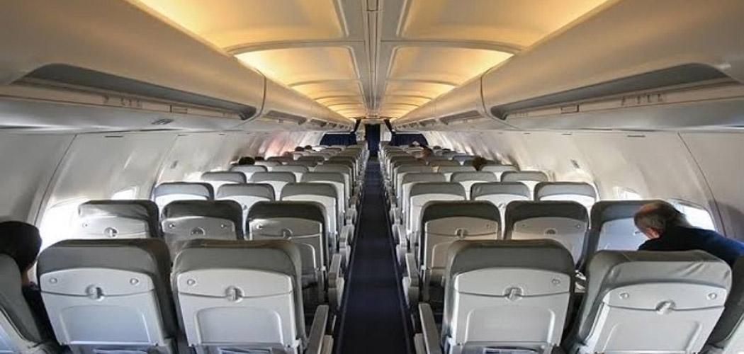Ilustrasi kabin pesawat.  - Dok. Istimewa