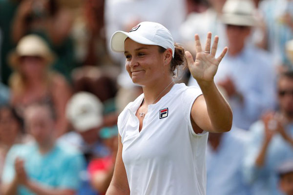 Petenis Australia Ashleigh Barty - Reuters