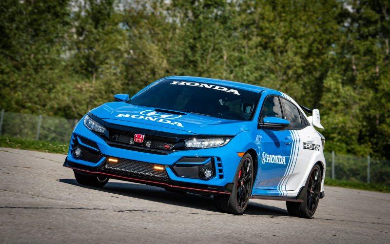 Honda Amerika Luncurkan Civic Type R Pace 2020 - Otomotif ...
