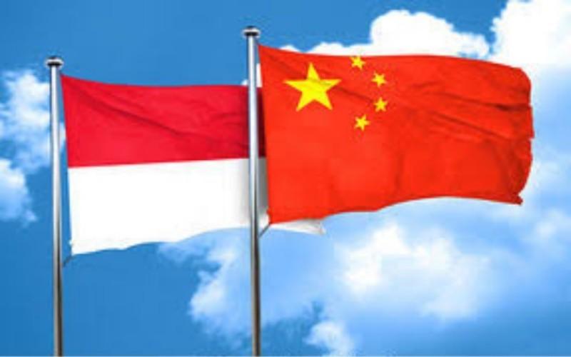 Bendera Indonesia China