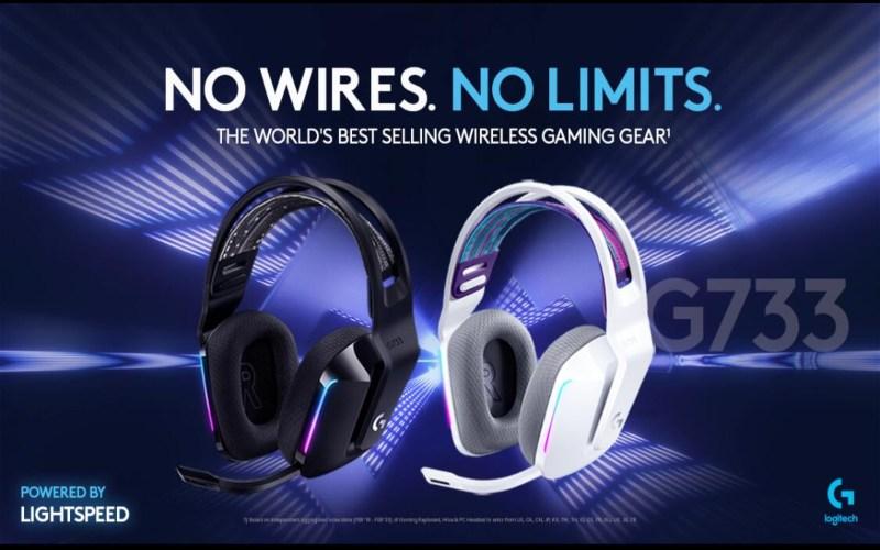 Logitech G733 Lightspeed Wireless Gaming.  - Logitech
