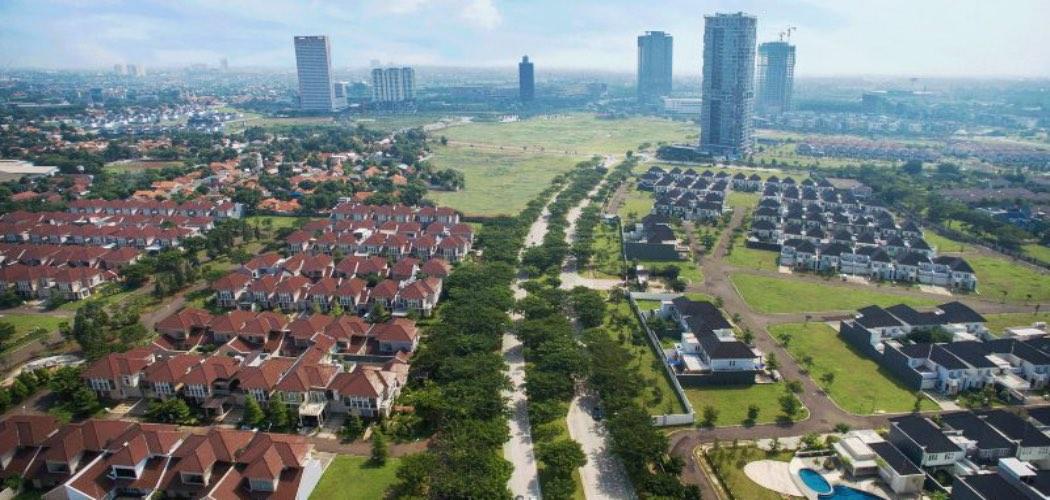 Kawasan permukiman besutan PT Alam Sutera Realty Tbk. di Tangerang. Alam Sutera memiliki beberapa segmen andalan yang menopang penjualan properti perseroan mulai dari properti hunian hingga properti komersial seperti perkantoran dan pusat perbelanjaan. - alam/sutera.com