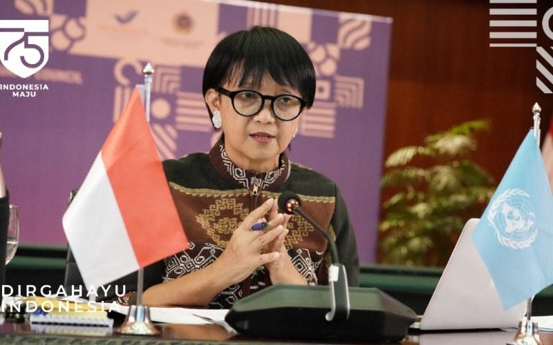 Menteri Luar Negeri Retno Marsudi mengikuti rapat Dewan Keamanan Perserikatan Bangsa-Bangsa - Twitter/@Kemlu_RI