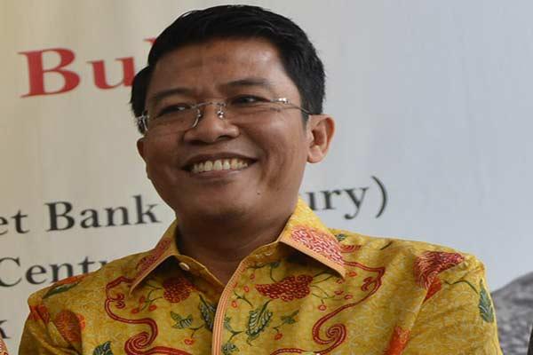 Anggota Komisi XI DPR dari Fraksi Partai Golkar M. Misbakhun.  - Antara