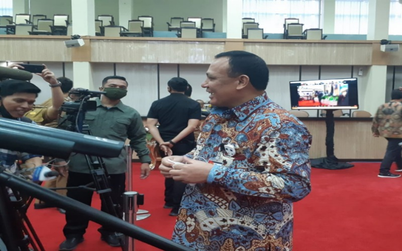 Ketua Komisi Pemberantasan Korupsi Firli Bahuri - Bisnis/Dinda Wulandari