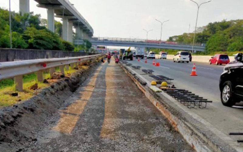 Pemeliharaan Jalan Tol Jagorawi. - Jasa Marga