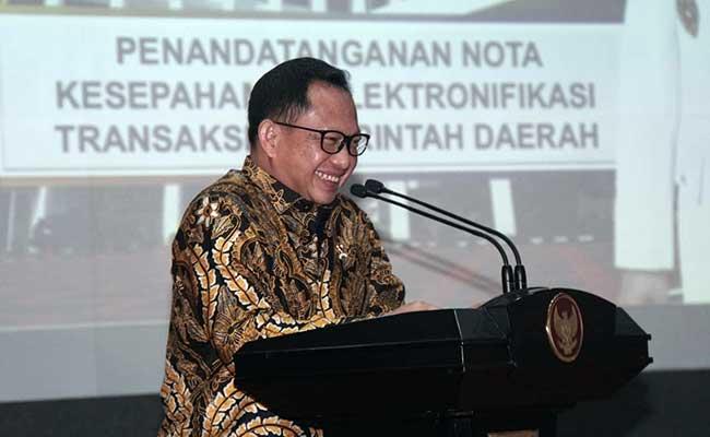 Menteri Dalam Negeri Tito Karnavian. - Bisnis/Himawan L Nugraha