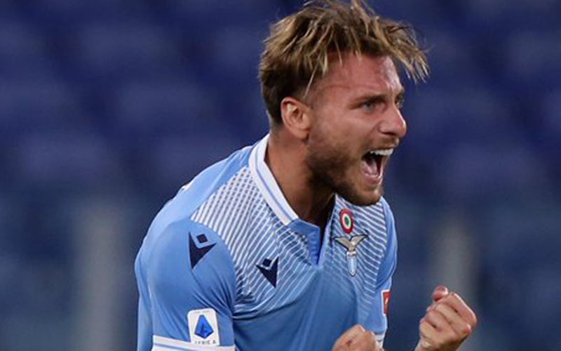 Ujung tombak Lazio Ciro Immobile - Twitter@Official SSLazio