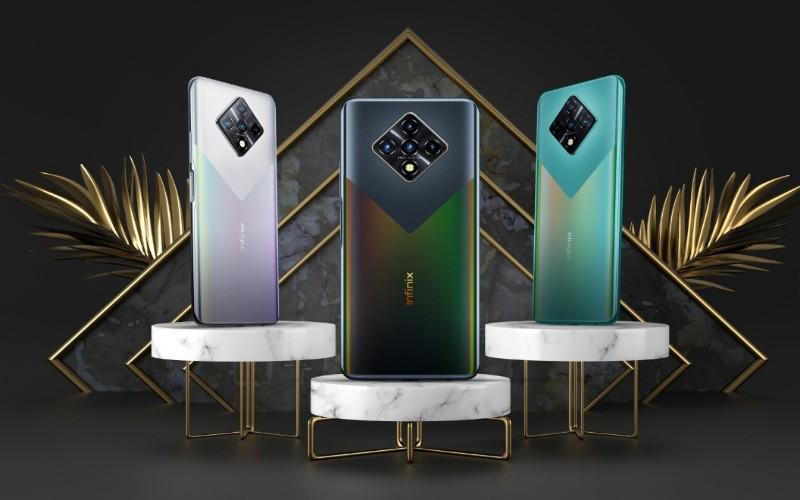 Infinix Zero 8 smartphone harga Rp3 jutaan. - istimewa