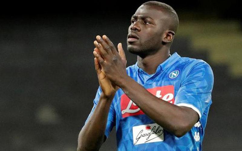 Bek Napoli Kalidou Koulibaly/Reuters - Ciro de Luca