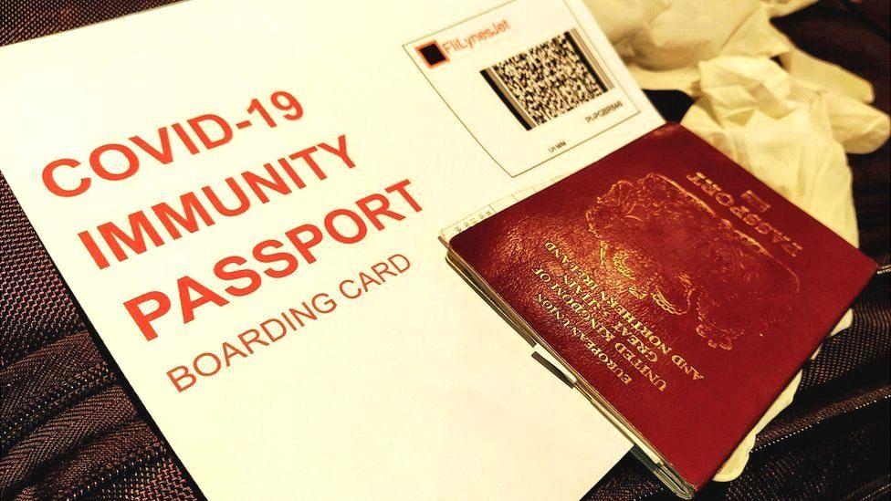 Immunity passport untuk memudahkan penerbangan internasional