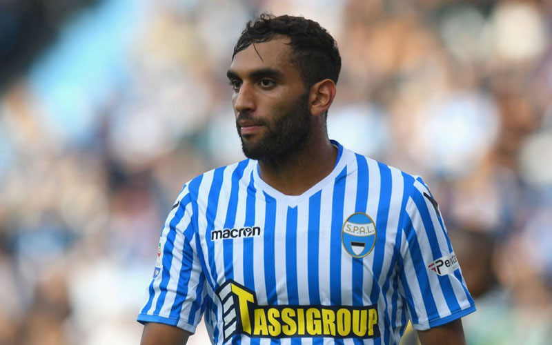 Pemain SPAL Mohamed Salim Fares - The Laziali