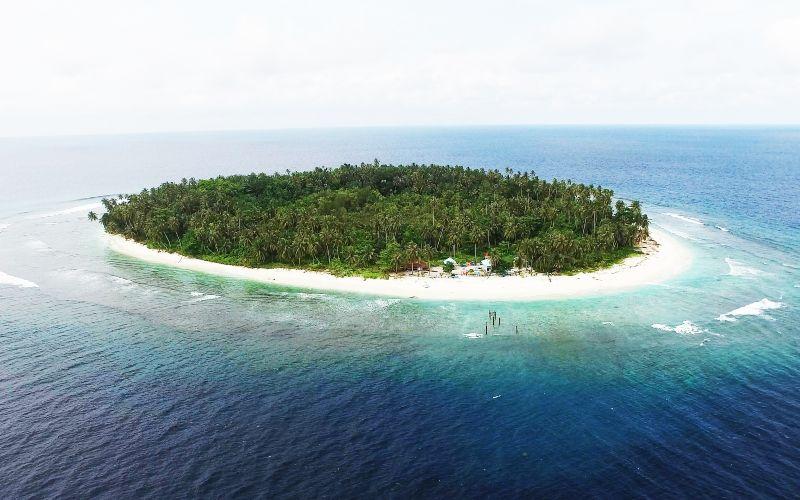 Ilustrasi - pulau kecil - istimewa