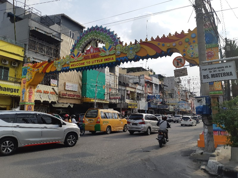 Little India di Medan