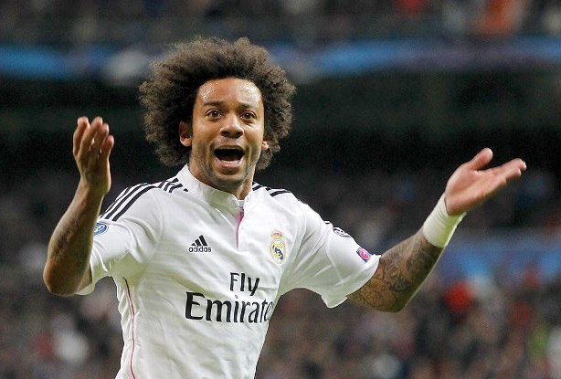 Bek Real Madrid Marcelo Vieira da Silva Junior. - ESPN