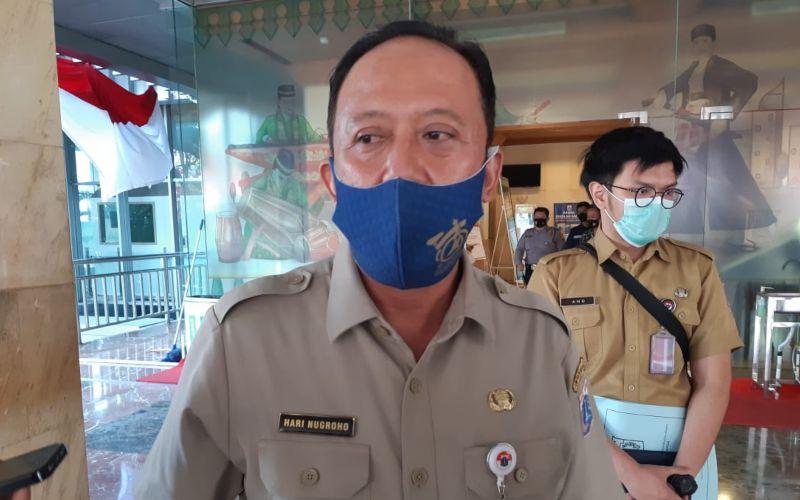 Kepala Dinas Bina Marga DKI Jakarta Hari Nugroho saat dijumpai di Balai Kota DKI Jakarta pada Senin (31/8/2020)  -  Bisnis / Nyoman Ary Wahyudi
