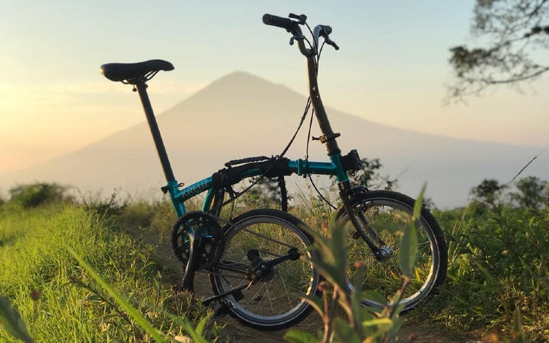 Sepeda Lipat.  - Instagram Kreuz Indonesia