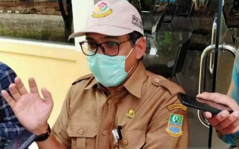 Juru Bicara Gugus Tugas Covid-19 Kabupaten Bekasi Alamsyah. - Antara