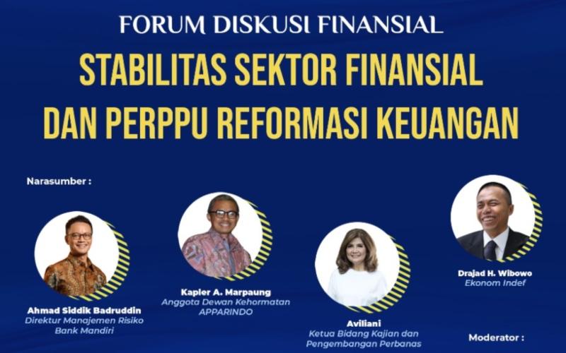 Forum Diskusi Finansial Stabilitas Sektor Finansial dan Perppu Reformasi Keuangan, Selasa (1/9 - 2020)/Bisnis