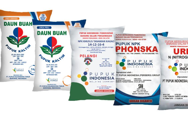 Pupuk Kaltim menyiapkan minimal 500 kg urea Daun Buah dan 500 kg pupuk NPK Pelangi nonsubsidi di setiap kios.  - Pupuk Kaltim