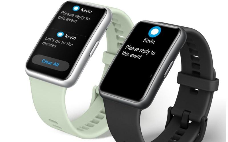 Watchfit yang dikeluarkan Huawei. Smartwatch ini juga memberikan pengingat pesan. - istimewa