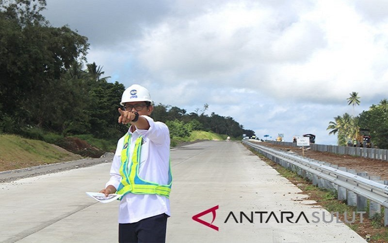 Direktur Utama PT Jasamarga Manado-Bitung, George Manurung - Antara