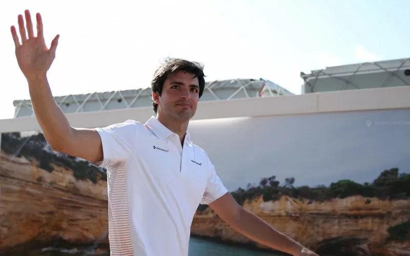 Pebalap Carlos Sainz - antara
