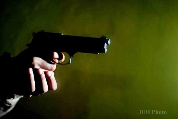 Ilustrasi senjata api. - JIBI/Nurul Hidayat