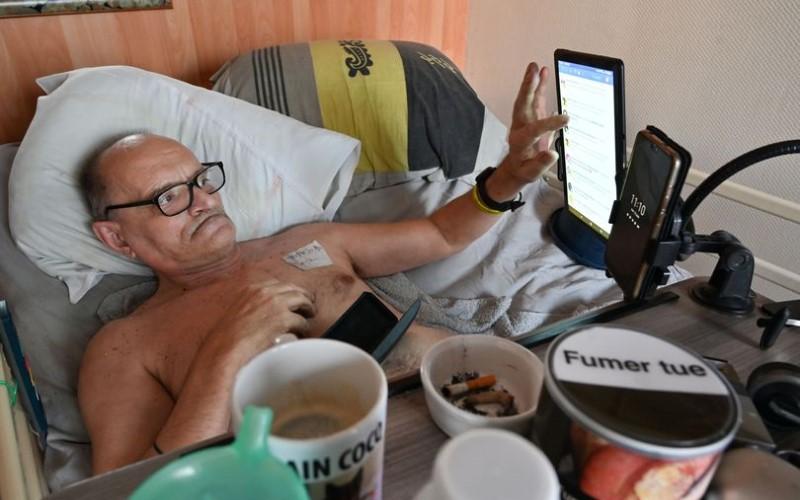 Alain Cocq ingin live streaming di Facebook menjelang kematiannya - AFP via Getty Images/mirror.co.uk