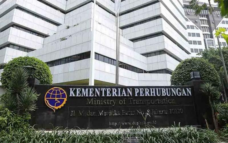 Gedung Kementerian Perhubungan. - Istimewa