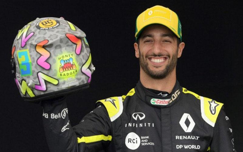 Pebalap F1 Renault Daniel Ricciardo/Antara - Reuters